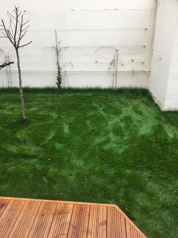 Création terrasse bois, pose gazon (3)